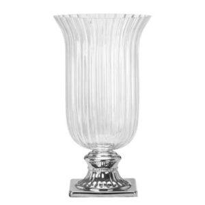 Windlicht Eefje – helder glas – 18×34 cm
