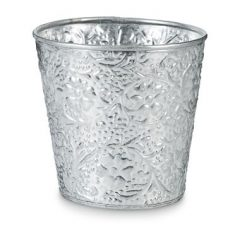 Theelichthouder aluminium – 10×10 cm
